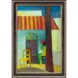August Macke: Bild 'Türkisches Café I' (1914), gerahmt
