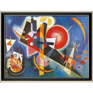 Wassily Kandinsky: Bild 'Im Blau' (1925), gerahmt