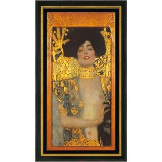 Gustav Klimt: Bild 'Judith I' (1901), gerahmt
