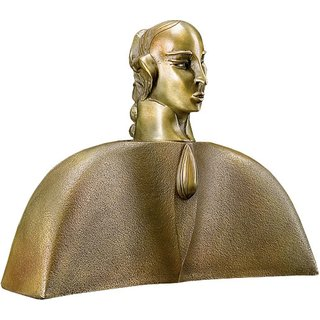 Paul Wunderlich: Skulptur 'Mozart', Bronze