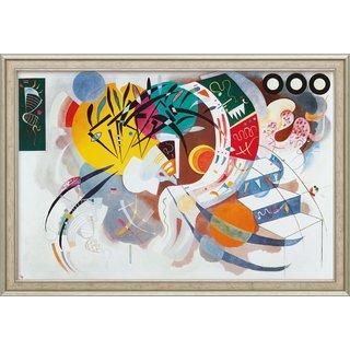 Wassily Kandinsky: Bild 'Dominant curve' (1936), gerahmt