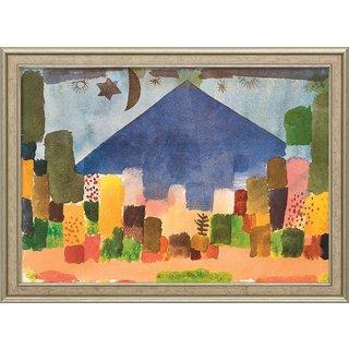 Paul Klee: Bild 'Der Niesen - Ägyptische Nacht' (1915), gerahmt