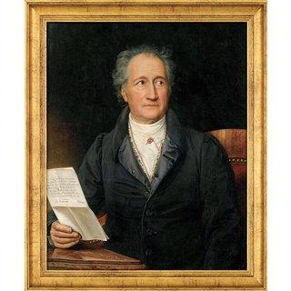 Joseph Karl Stieler: Bild 'Goethe' (1828), gerahmt