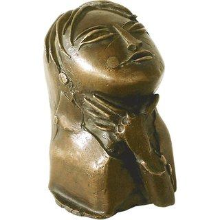 Paul Wunderlich: Skulptur 'Asiatin', Bronze