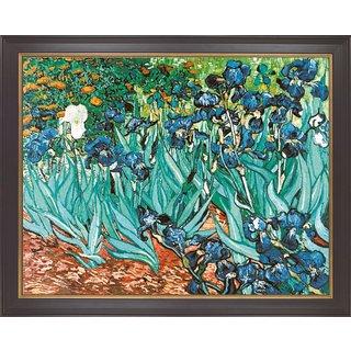 Vincent van Gogh: Bild 'Iris' (1889), gerahmt
