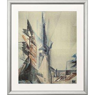 Lyonel Feininger: Bild 'Gelmeroda XI' (1928), gerahmt