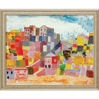 Paul Klee: Bild 'Sizilien bei S. Andrea' (1924), gerahmt