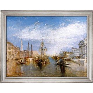 William Turner: Bild 'Canal Grande' (1835), gerahmt