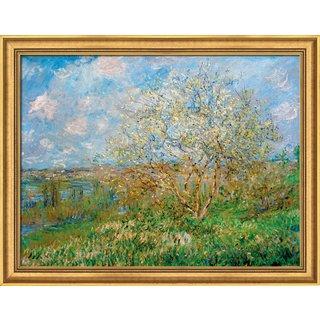Claude Monet: Bild 'Der Frühling' (1880/82), gerahmt