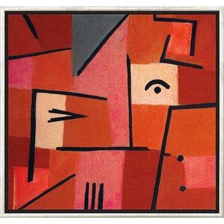 Paul Klee: Bild 'Blick aus Rot' (1937), gerahmt