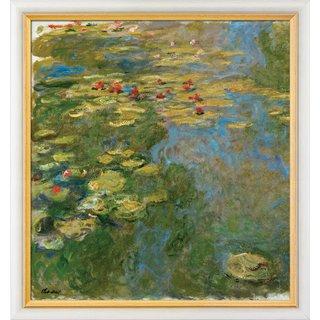 Claude Monet: Bild 'Le Bassin aux Nymphéas, Partie Gauche - Der Seerosenteich, linker Teil' (1917-19