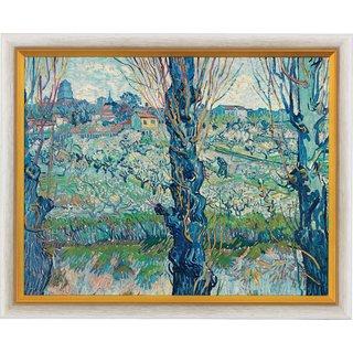 Vincent van Gogh: Bild 'Blick auf Arles' (1889), gerahmt
