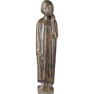 Ernst Barlach: Skulptur 'Der Sinnende II' (1934), Reduktion in Bronze