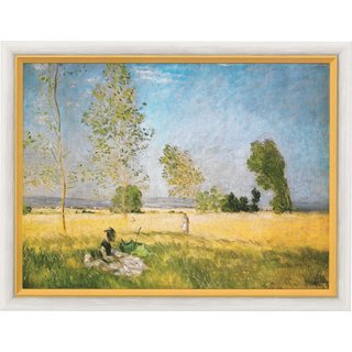 Claude Monet: Bild 'Sommer' (1874), gerahmt