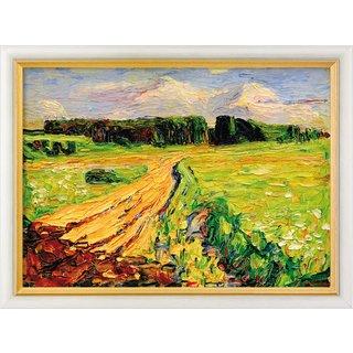 Wassily Kandinsky: Bild 'München - Planegg I' (1901), gerahmt