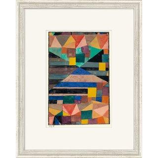 Paul Klee: Bild 'Blauer Berg' (1919), gerahmt