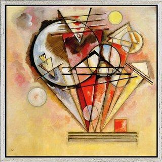 Wassily Kandinsky: Bild 'Auf Spitzen' (1928), gerahmt