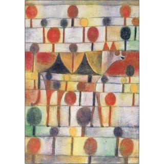 Paul Klee: Teppich 'Kamel in rhythmischer Baumlandschaft' (230 x 160 cm)