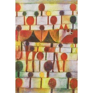 Paul Klee: Bild 'Kamel in rhythmischer Baumlandschaft' (1920)