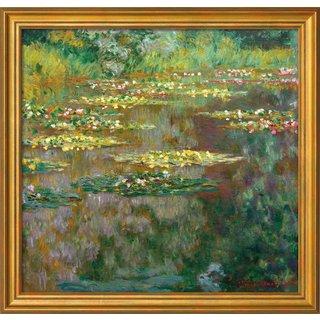 Claude Monet: Bild 'Nymphéas' (1904), gerahmt
