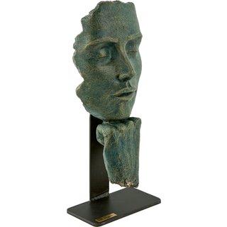 Angeles Anglada: Skulptur 'Pause', Kunstguss Steinoptik