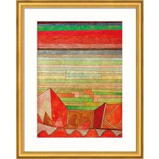 Paul Klee: Bild 'Blick in das Fruchtland', gerahmt