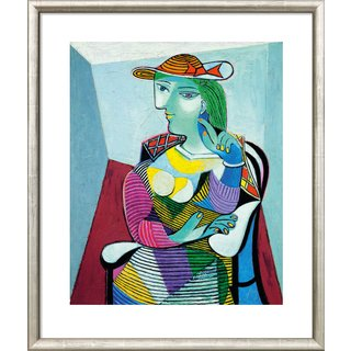Pablo Picasso: Bild 'Portrait Marie-Thérèse Walter' (1937), gerahmt