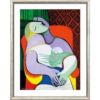 Pablo Picasso: Bild 'Le Rêve - Der Traum' (1932), gerahmt