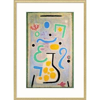 Paul Klee: Bild 'Die Vase' (1938), gerahmt