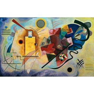Wassily Kandinsky: Bild 'Gelb - Rot - Blau' (1925)