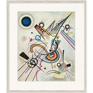 Wassily Kandinsky: Bild 'Diagonale' (1923), gerahmt