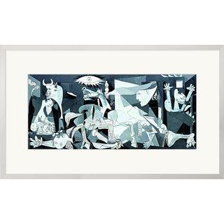 Pablo Picasso: Bild 'Guernica' (1937), gerahmt