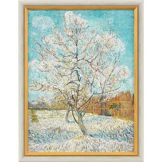 Vincent van Gogh: Bild 'Der rosa Pfirsichbaum' (1888), gerahmt