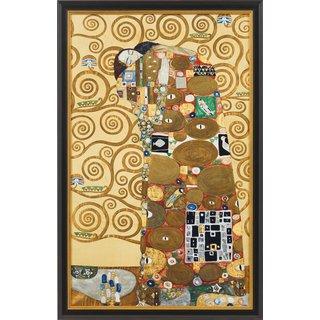 Gustav Klimt: Bild 'Die Erfüllung' (1905/09), gerahmt