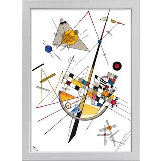 Wassily Kandinsky: Bild 'Delicate Tension' (1923), gerahmt