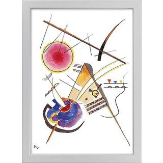 Wassily Kandinsky: Bild 'Komposition' (1925), gerahmt