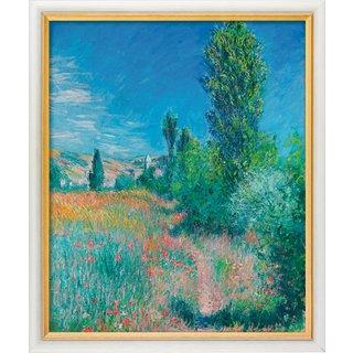 Claude Monet: Bild 'Landschaft auf Saint-Martin' (1881), gerahmt