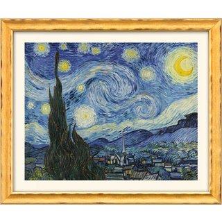 Vincent van Gogh: Bild 'Sternennacht' (1889), gerahmt