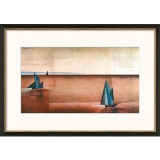 Lyonel Feininger: Bild 'Regenklarheit' (1918), gerahmt