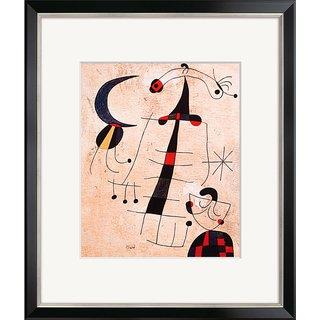 Joan Miró: Bild 'Klage der Liebenden', gerahmt