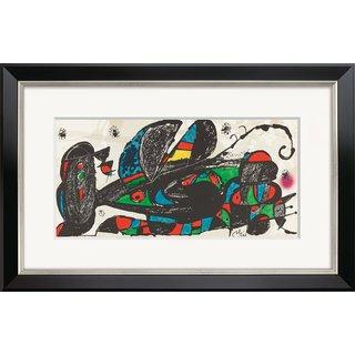Joan Miró: Bild 'Escultor Iran' (1974), gerahmt