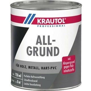 weiss 750 ml KRAUTOL ALLGRUND | Acrylgrundierung - 750ml - weiss