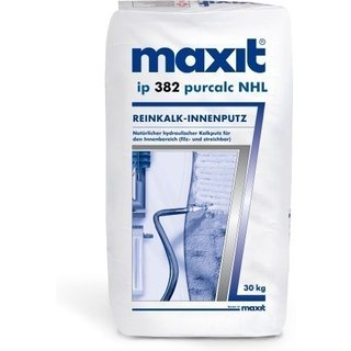 maxit ip 382 purcalc NHL - Reinkalk-Innenputz - 30kg