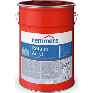 750 ml Remmers Rofalin Acryl, weiß - Schutzfarbe