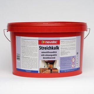 5ltr novatic Streichkalk AD01 - weiß - 5ltr