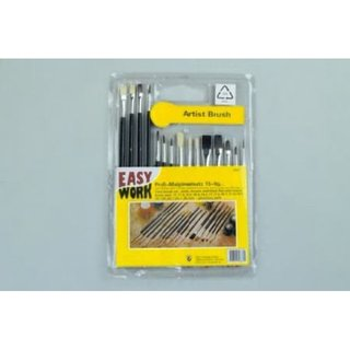 Easy Work Profi-Malpinselsatz 15teilig