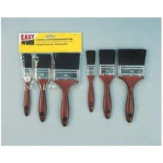 Easy Work Lasuren- und Flachpinselsatz 3teilig