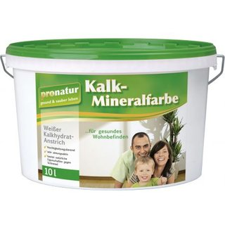 Kalk-Mineralfarbe pronatur