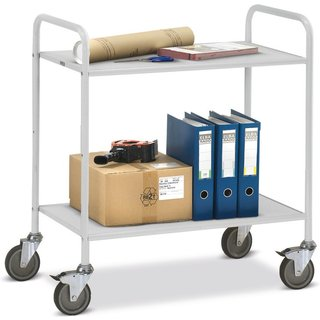 Der Büro- und Aktenwagen fetra® mit Stahlrohr-Konstruktion erleichtert den Büroalltag Dieser Büro- u