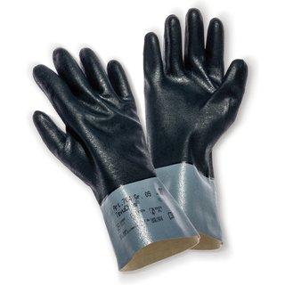 Mit dem Chemikalienschutz-Handschuh KCL TevuChem® 764 behalten Sie auch in rutschigen Situationen fe